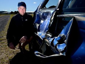 Eyewitness account describes moment hoon smashed into car
