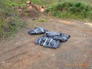 Asbestos illegally dumped at Jiggi quarry