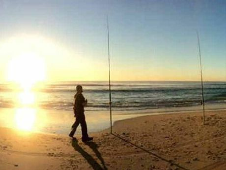 AWESOME: Rainbow Beach put on show for Fishing Classic competitors early last week.