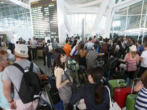 Flights resume to bring stranded Bali tourists home