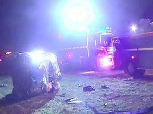 Fatal crash survivors remain in critical condition