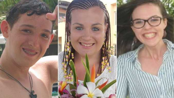 Will Fowell, Talieha Nebauer and Caitlin Wilkinson Whiticker died after the Barrett Centre closed in 2014.