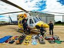 Cherbourg Aboriginal Shire Council has generously donated two vital medical kits to RACQ CareFlight Rescue to help save lives in the region.