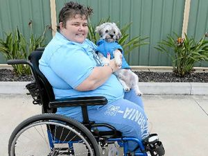 Local business chips in for expensive wheelchair repairs