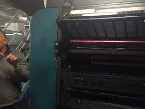 Toowoomba APN print site tour