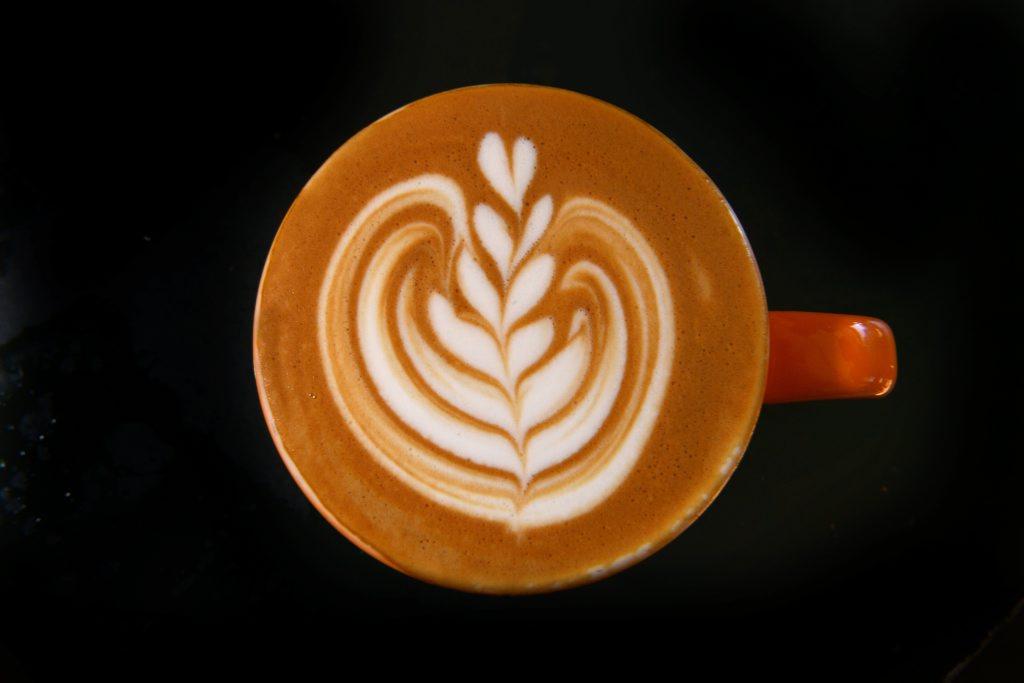 Coffee art is seen around the Garden City.