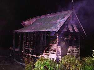 Bonville church fire