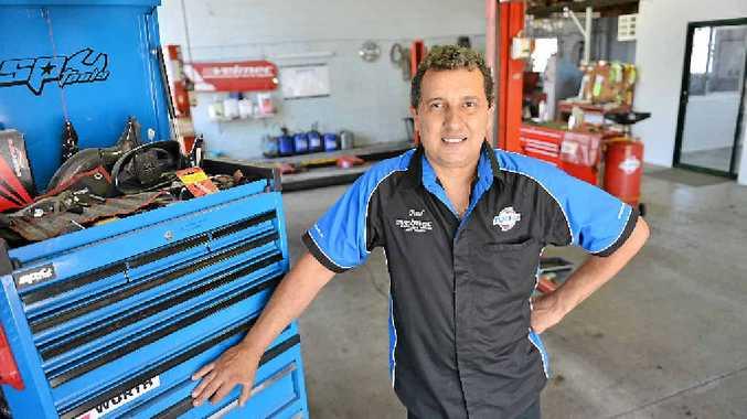 REGULAR CHECKS A MUST: Paul Vella of Velmec Automotive Service and Repairs, Oak St, Gympie.