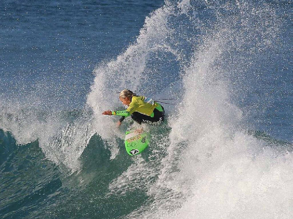 TOP DOG: Kyuss King on his way to winning the Junior State Titles Under-16 final.