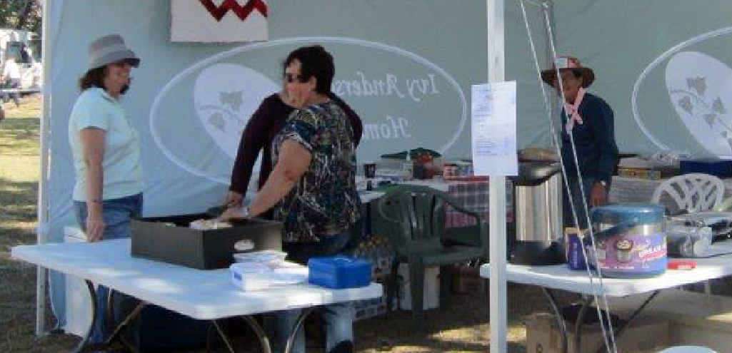 EXERCISE: The Ivy Anderson Home committee fundraised through their catering at the Springsure Show.