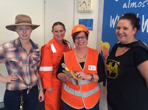 YOUR STORY: Bank staff dressed up for charity