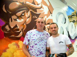 VIDEO: Stockland gets splash of colour via spray cans