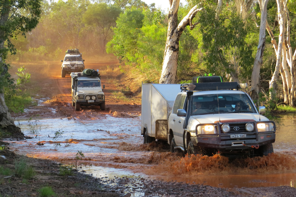 A simple low mount winch, some all-terrains and a snorkel is all you need to see just about everything Cape York has to offer, and believe us, that's a whole bloody lot!
