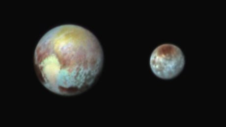 Pluto and Charon. Photo: NASA