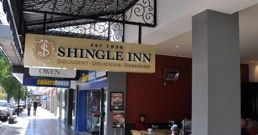 The Shingle Inn Cafe in the Toowoomba CBD.