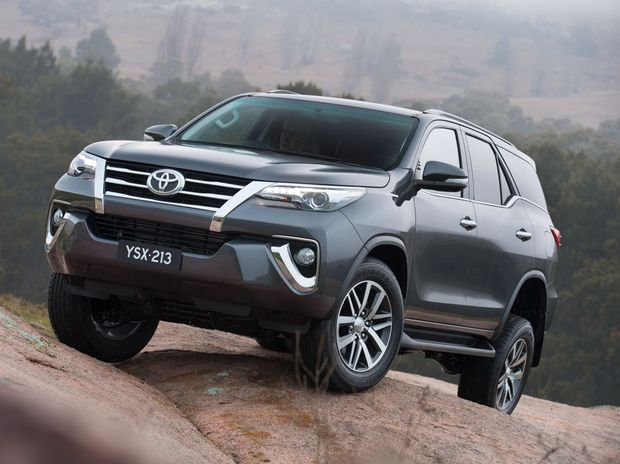 ALL-NEW TOYOTA: HiLux-based seven-seat diesel Fortuner will join five other SUVs in Toyota's range, and is on sale from October.