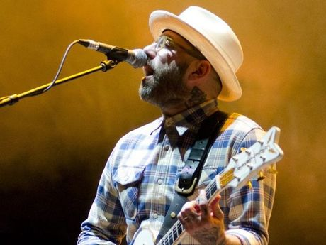 Dallas Green of City and Colour. They will perform at Bluesfest 2015. Photo by Stephen Booth.