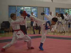 Karate kid set to rise to the occasion at Japan event