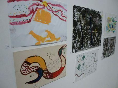 WHADDUP wall at Toowoomba Regional Art Gallery.