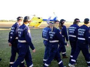 Cadets learn about CareFlight operations