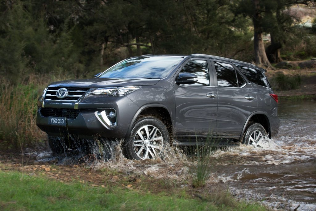 SATURATED TOYOTA? Fortuner will be the sixth Toyota SUV in Australia, joining RAV4, Kluger, FJ Cruiser, Prado and LandCruiser 200.