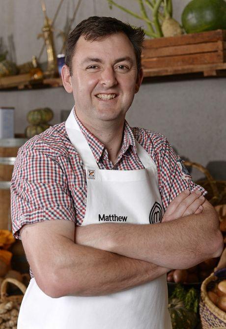 MasterChef Australia contestant Matthew Hopcraft