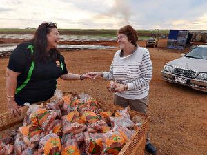 Mortimer's Farm still selling bags of sweet potatoes