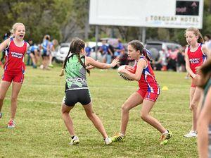 Koalas battle hard on the touch footy fields
