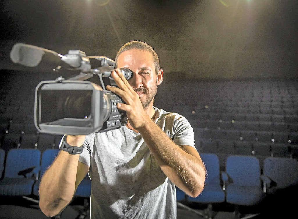 FILM MAKING: Luke Graham is preparing for the Capricorn Film Festival.