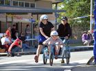 Action from the 11th annual Noosa Billy Cart Grand Prix at the Noosa Christian College at Cooroy. Photo: Brett Wortman / Sunshine Coast Daily