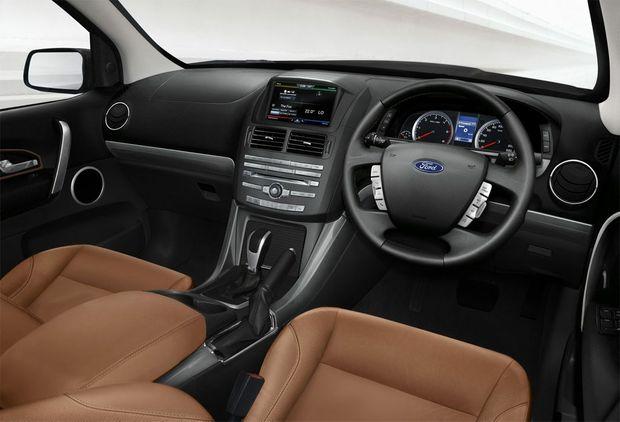 Luxury: Ford Territory Titanium