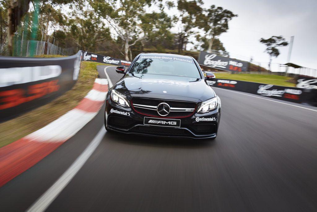 BATHURST: Ideal spot for some C63 S playtime