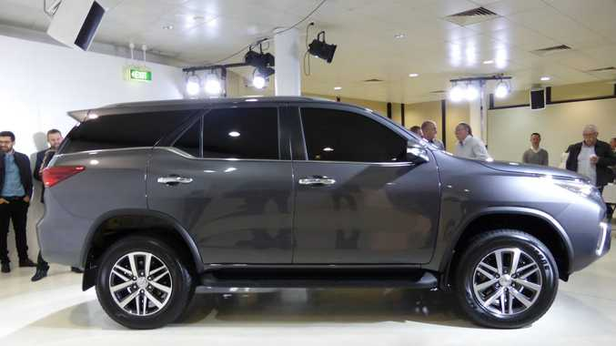 SEVEN SEATS: Large SUV will be diesel only, part-time 4x4, seating for seven and with a choice of manual or auto.