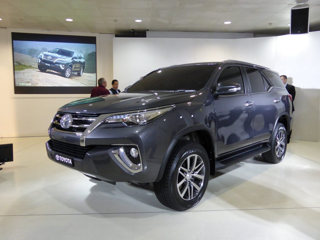 AUSTRALIA BOUND: October launch for the Fortuner which has had success in previous generations in Asia and the Middle East, perhaps explaining the large dose of chrome style.
