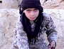 Isis video shows young boy beheading Syrian soldier