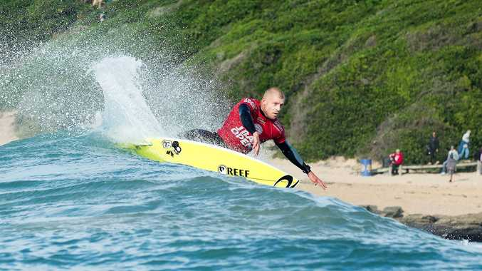 Mick Fanning in action