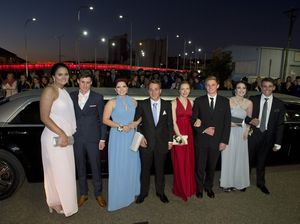 St Mary's formal red carpet arrivals