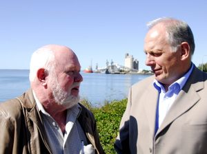 Mike Lutze talks about Gladstone Harbour