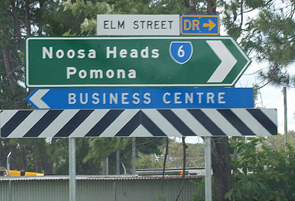 CRASH SCENE: Elm St at Cooroy was the scene of the deadly accident.