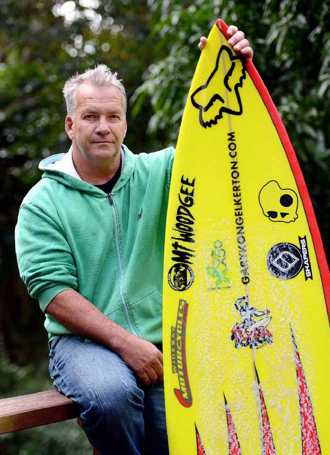 KONG SAYS: Former pro-surfer Gary Elkerton is shocked by the shark attack on Mick Fanning.