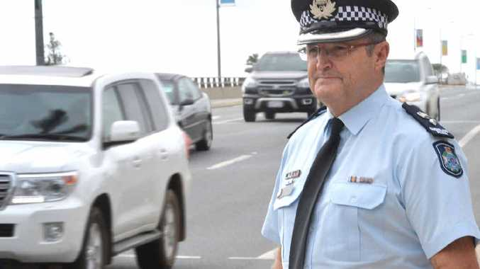 TIME FOR CHANGE: Mackay Police District Acting Superintendent Andy Graham has called out to drivers to change their attitudes.