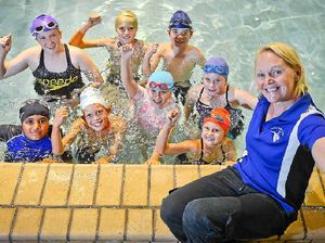 WATCH: Swim school lapping up donations for Relay for Life