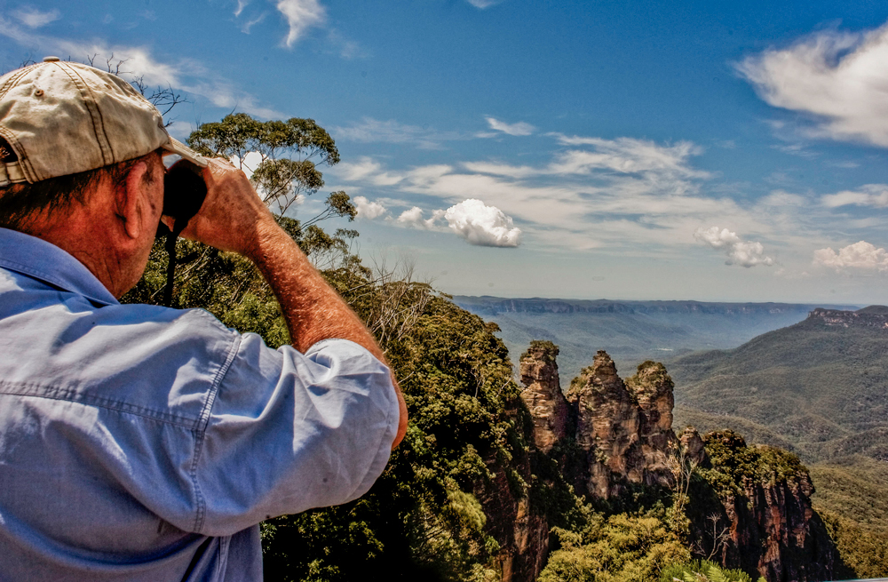 Views from Echo Point, Katoomba.