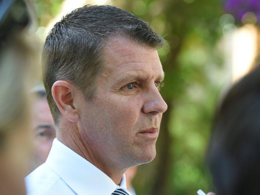 Premier Mike Baird.