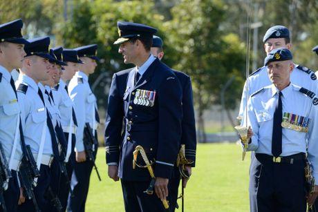 Australian army firefighter