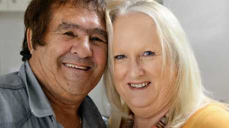 Emmanuel Ellul talks about his life in Australia after being removed from his parents in Malta. Emmanuel wife his wife, Lyn. Photo: Rob Williams / The Queensland Times