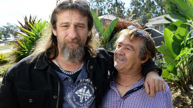 Manny Ellul (right) has found his son Greg after a 47-year search.
