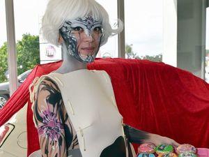IN PICTURES: Eumundi's Body Art Festival goes flower power