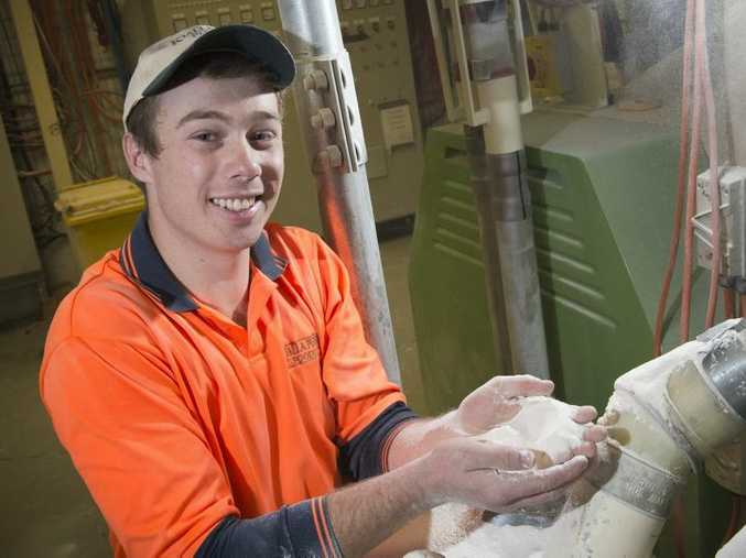 Jack Trenear achieved world class results in his final exams of his milling qualification.
