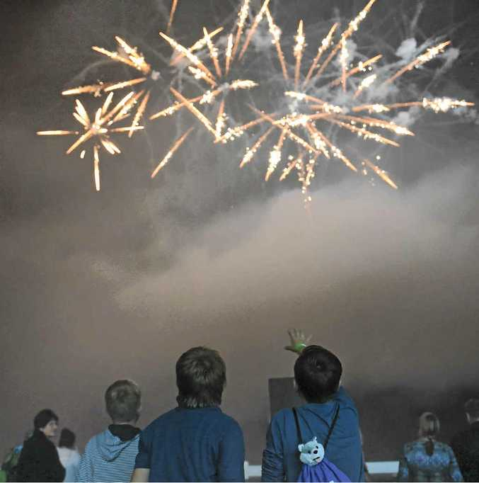 FAMILY EVENT: The Bellingen Lions Club will light up the night sky over Bellingen on August 8.